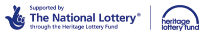 Supported by the National Lottery through the Heritage Lottery Fund [HLF and National Lottery logos]