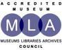 Northgate Museum is an Accredited Museum [MLA logo]